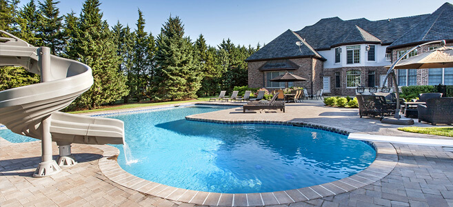 Custom Inground Pools in Chicago