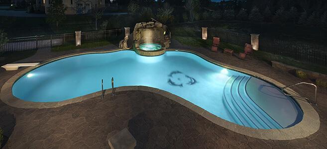 Freeform Pool Example