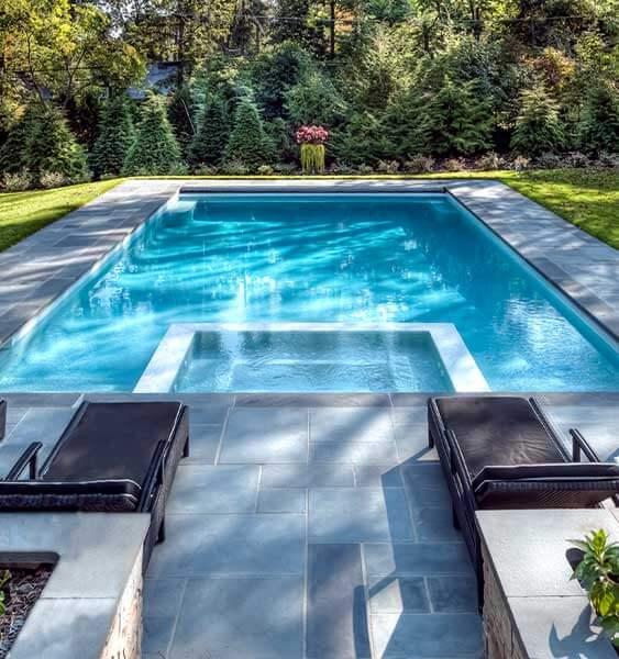 Inground Swimming Pool Builders Sunset Pools Spas Chicago