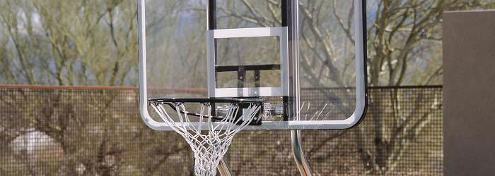 Swimming Pool Basketball Hoop and Volleyball Net